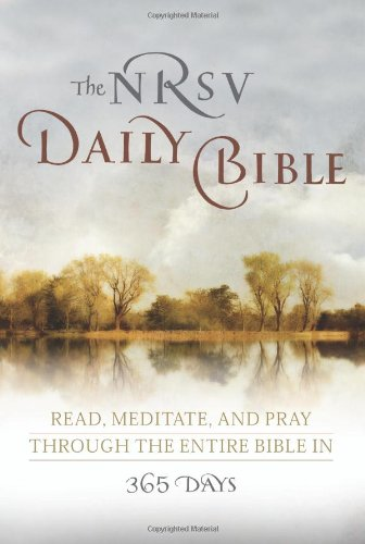 Cover of The NRSV Daily Bible