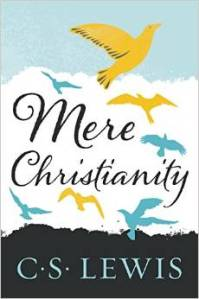 Mere Christianity by CS Lewis--book cover from Amazon