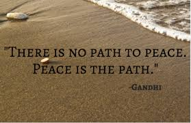 There is no path to peace